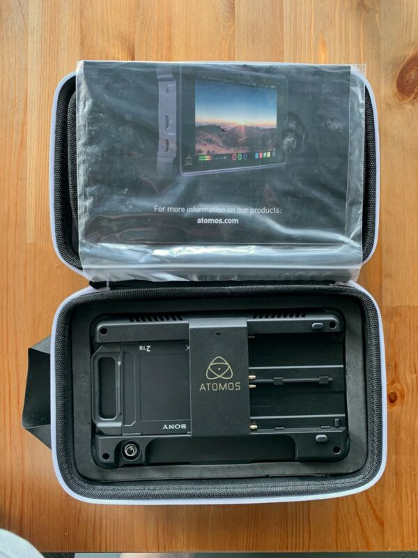 "Atomos Ninja Inferno 7"" 4K with SONY AtomX 2TB - MINT - USED ONCE for TESTING"