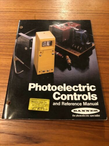 Banner Photoelectric Controls and Reference Manual