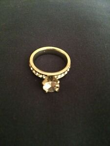 Silver Plated Engagement Ring