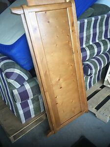 Double captains bed with mattress