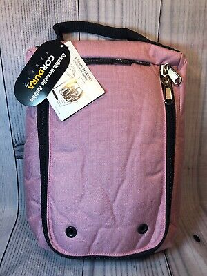 Club Glove Shoe Bag II Wine Carrier Shoes Travel Bag Traveling Golf NEW Pink