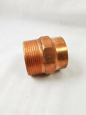 Nibco 1-12 Copper X Male Adapter Mipxc - Copper Pipe Fitting