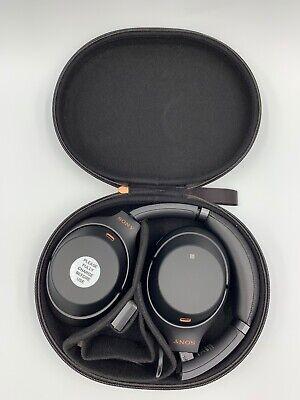 Sony WH-1000XM3 Bluetooth Wireless Noise Canceling Headphones, Black