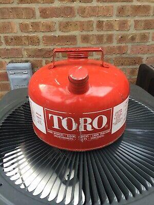 Vintage Toro 2 12 Gallon Metal Gas Can