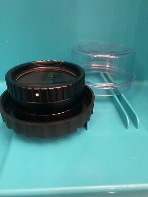 Wild Heerbrugg 200mm Sl Objective With Prizm Fred Reflex Light M-690 Microscop