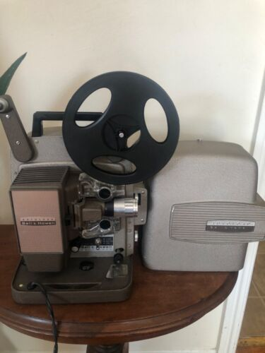 Vintage Bell & Howell Autoload 8MM Projector Model 245 PA Powers On Lamp  USA