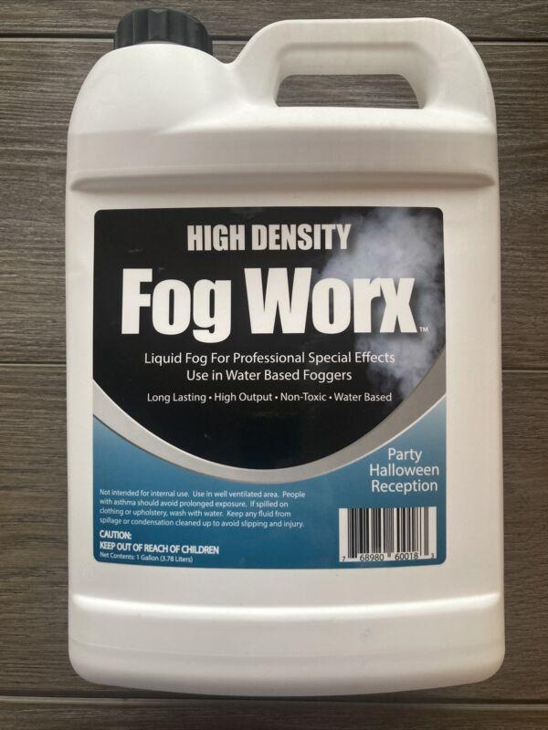 High-Density Fog Worx Liquid Fog 1 gallon long-lasting/high output/non-toxic