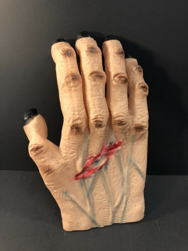 Vintage Halloween Giant Rubber Fake Hand Hong Kong