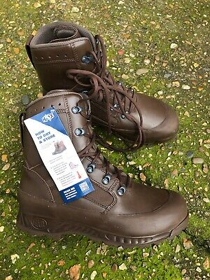 HAIX BROWN LEATHER GORETEX BOOTS SIZE 9M - NEW WITH TAGS