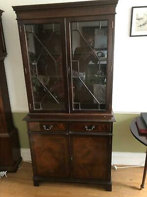 Superb Georgian Style Mahogany Display Cabinet