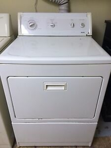 Kenmore dryer pick up today