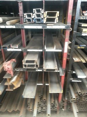 Grade A36 Hot Rolled Steel Channel - 3 X 4.1ft X 72