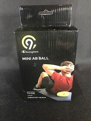 New C-9 Champion Mini AB Ball Exercise Ball Yellow~9 inch