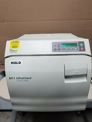 Midmark Ritter M11 Ultraclave Automatic Sterilizer Autoclave M11-022