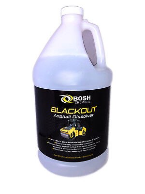 Blackout Asphalt Remover