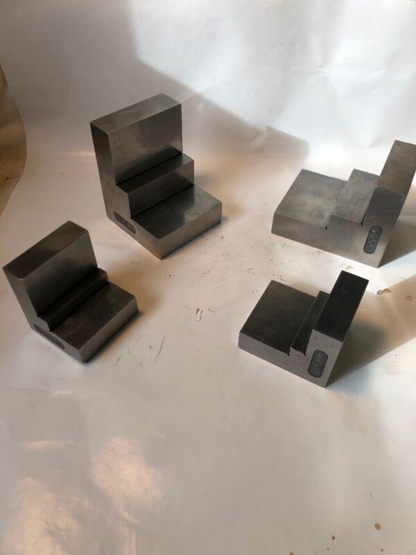 Toolmaker Made Grinding Setup Angle Blocks