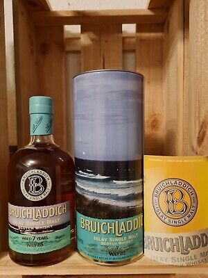 Bruichladdich Waves 7 Jahre , Islay Single Malt Whisky, 70 cl, 46,0 %
