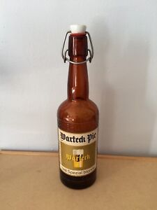 Collectible Swiss Warteck Pic - Hell Spezial Blonde Beer bottle