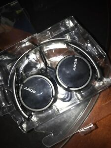 BARELY USED Wired Sony Headphones