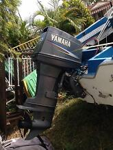 16 ft skimmer craft 2012 yamaha 90 hp and trailer and rego Beenleigh Logan Area Preview