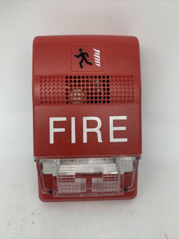 EST EDWARDS G1RF-CVM MULTI FIRE ALARM CD CHIME STROBE RED 24V