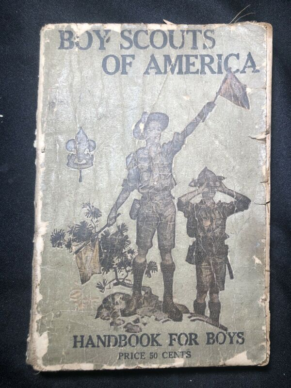 1916 BOY SCOUTS Of AMERICA Handbook CAMPING Conservation FIRST AID Conservation
