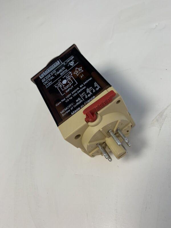 Crouzet 88.226.510 3 Range OCTAL TIMER 115Volt-60 Hz
