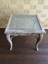 DISTRESSED FINISH WICKER / TIMBER COFFEE TABLE Pymble Ku-ring-gai Area Preview