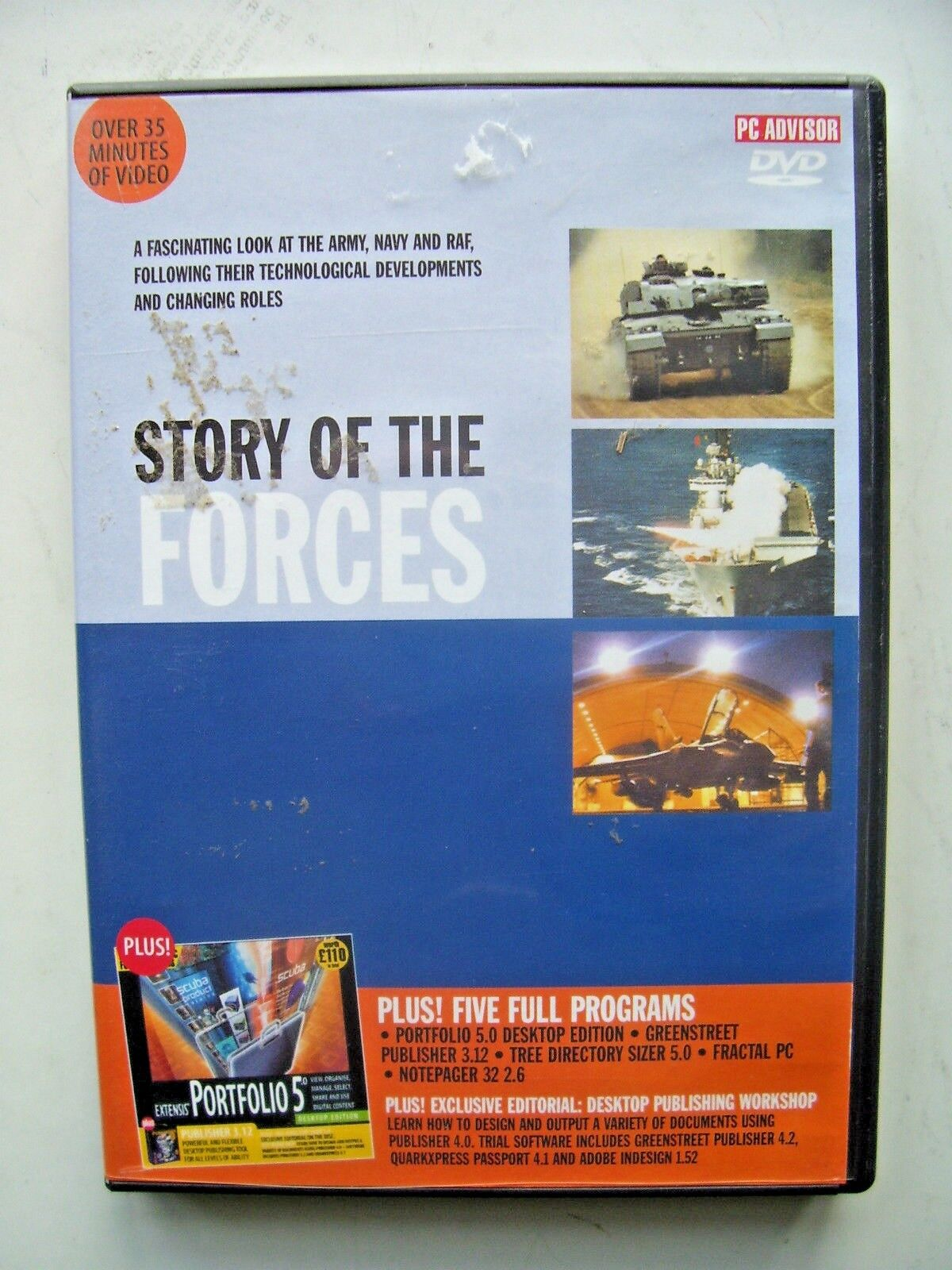 The Story of the Forces  DVD