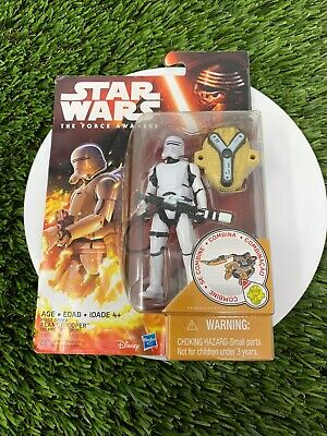 "Hasbro Star Wars The Force Awakens FIRST ORDER FLAMETROOPER 3.75"" figure NEW🔥"
