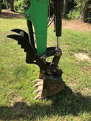 Bobcat 325328329331334 Pin On Hydraulic Mini Excavator Thumb Clamp Kit