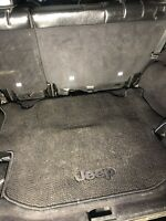 Jeep Jk unlimited trunk carpet mat