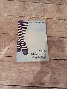 Alice's adventures in wonderland & Alice through the looking glass Ormond Glen Eira Area Preview