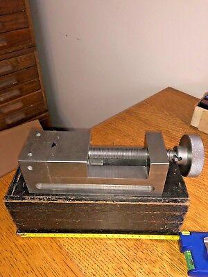 Machinist Milling Grinding Precision Vise Toolmaker 7 18 X 2 58 X 2.5 Case