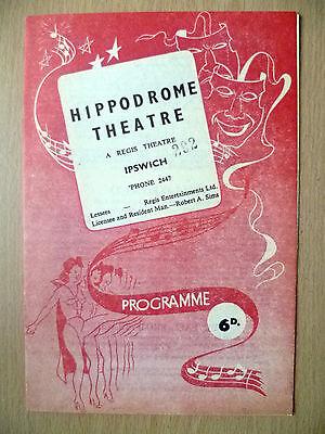 Hippodrome Theatre 1951- Terpsichore's  THE CONTINENTAL BALLET