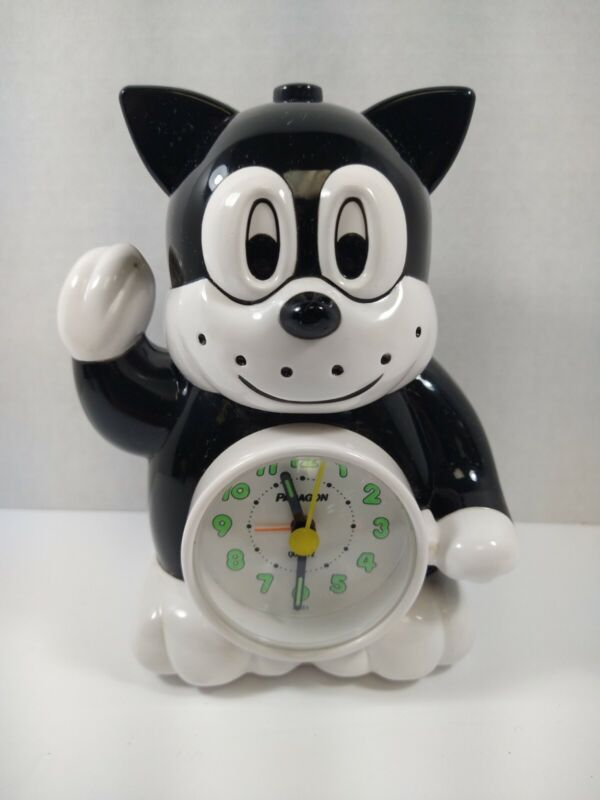 Paragon alarm cat clock tested and works great! Rare!