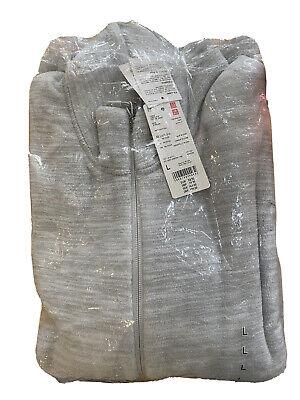 Uniqlo Long Sleeve Full Zip Fleece Jacket