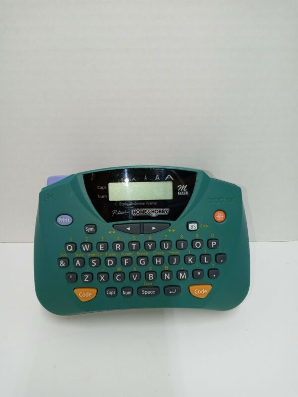 Brother Model PT-65 P-Touch Home and Hobby Label Maker Portable Handheld