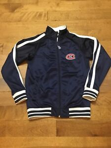 Size 7/8 kids NHL Montreal Canadiens jacket
