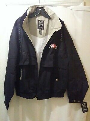Gear For Sports Coca Cola Racing Jacket size XL Black with liner NWT