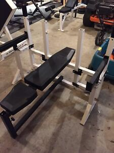 Northern Lights Olympic Bench Press