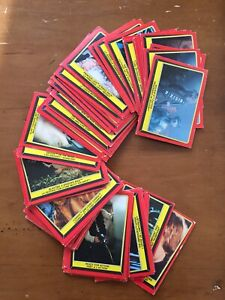 1983 Topps Star Wars Return of the Jedi Trading Cards for sale