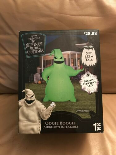The Nightmare Before Christmas Oogie Boogie Airblown Inflatable 5 Foot