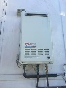 Rheem gas hot water system Sans Souci Rockdale Area Preview