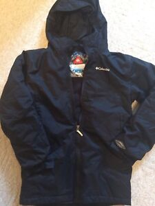 Columbia omni heat coat - size large