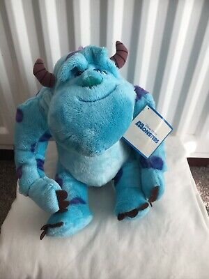 Disney Pixar MOnsters Inc plush bear SULLY BNWT  11 INCHES