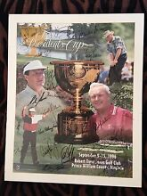 Presidents Cup Golf Memorabilia Paradise Point Gold Coast North Preview