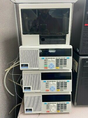 Perkin Elmer Series 200 Hplc System With Columns