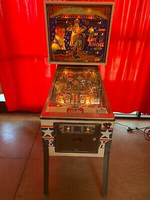 Evel Knievel Pinball Machine by Bally '77 !!!