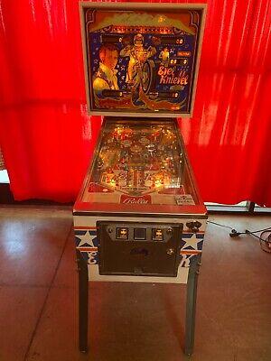 Evel Knievel Pinball Machine by Bally '77 !!!